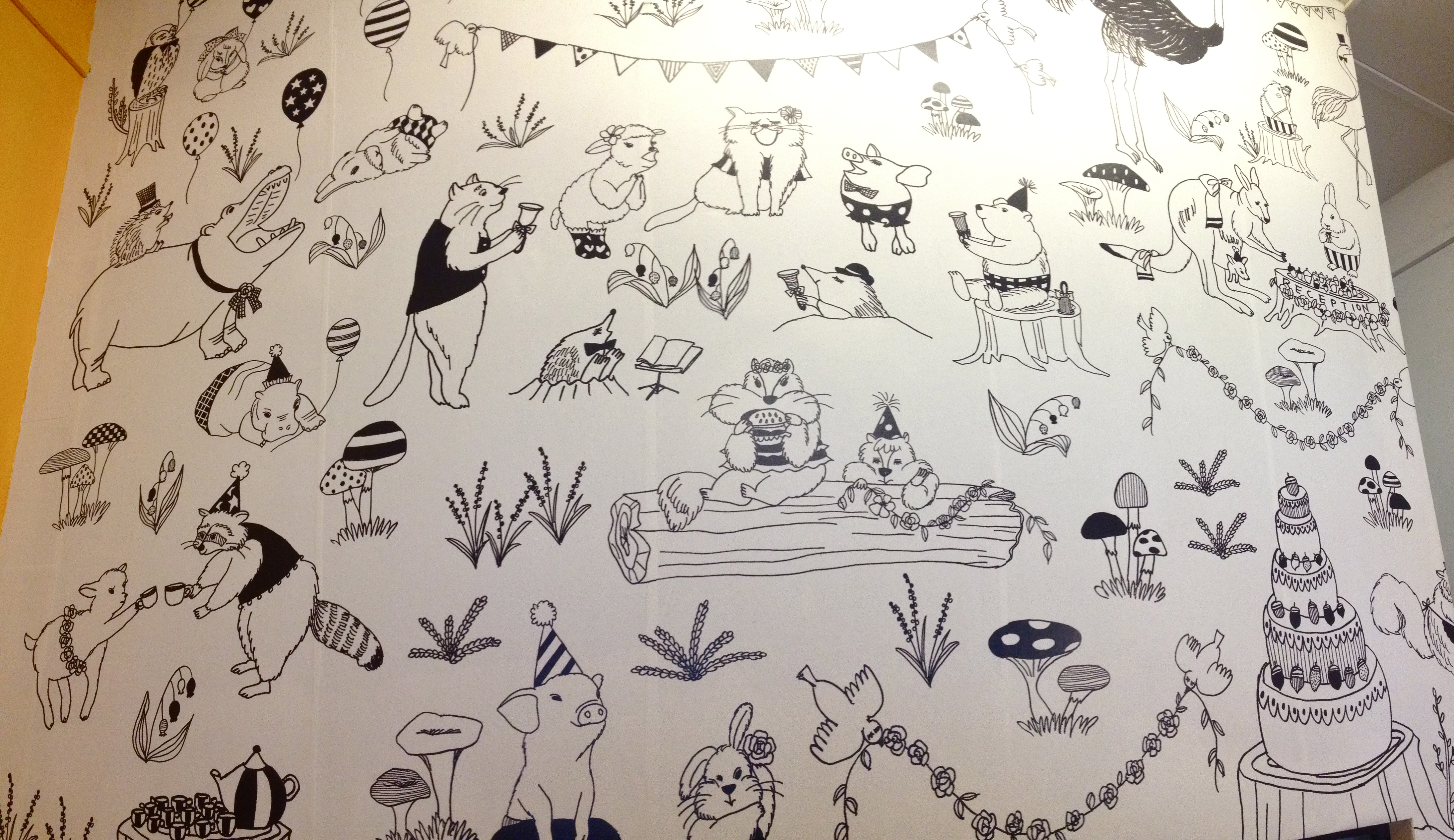 壁紙完成しました Wallpaper got completed.