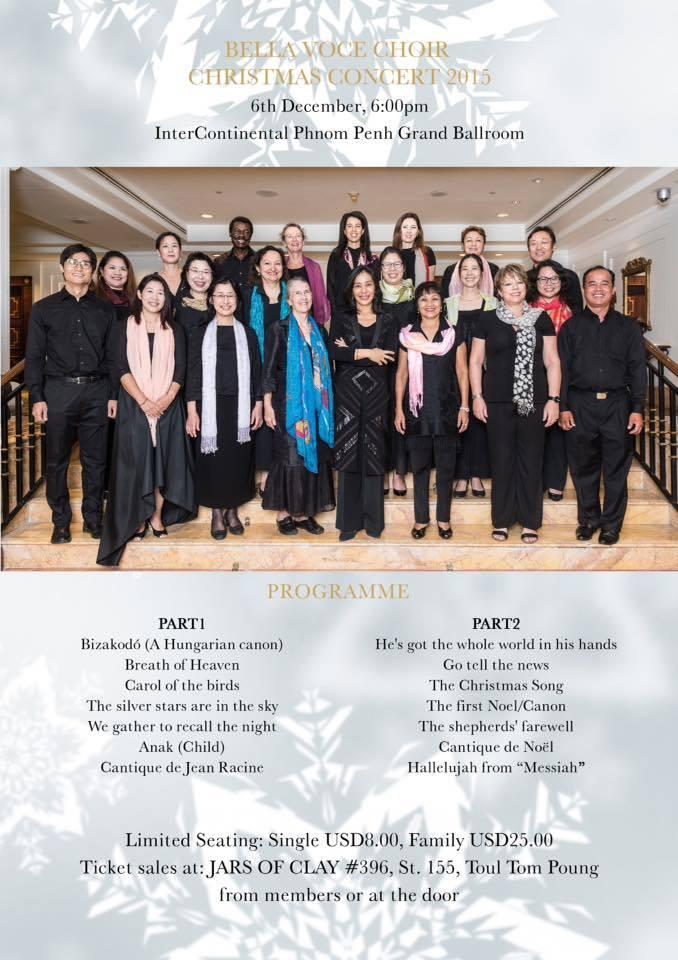 """BELLA VOCE"" Christmas songs in Phnom Penh"