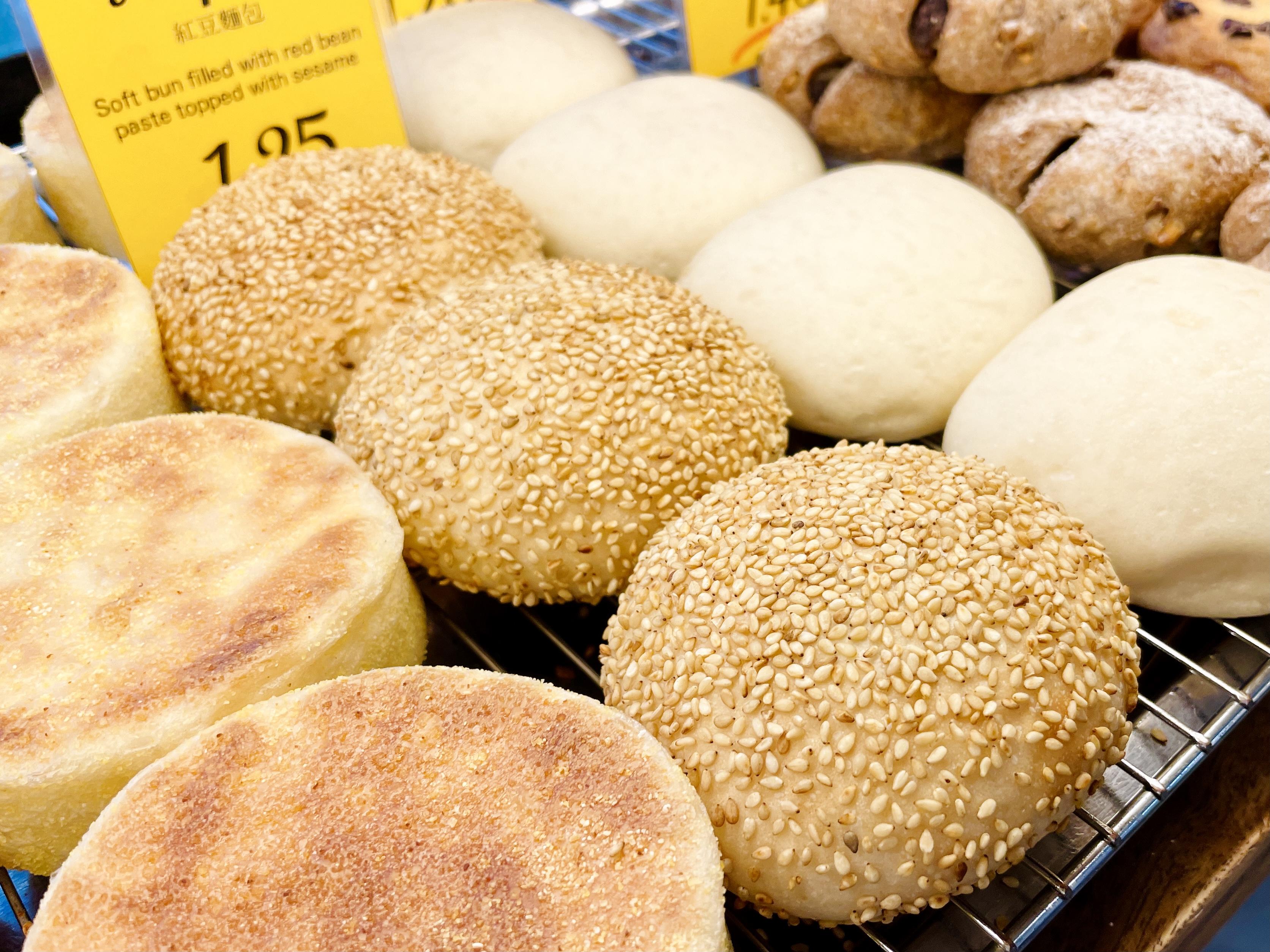 あんぱんとくりーむぱんの焼き色 ANPAN and Custard bun